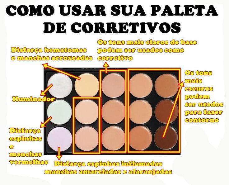 Paleta De Base Corretivos 15 Cores Maquiagem Profissional - R$ 18,99 em Mercado Livre