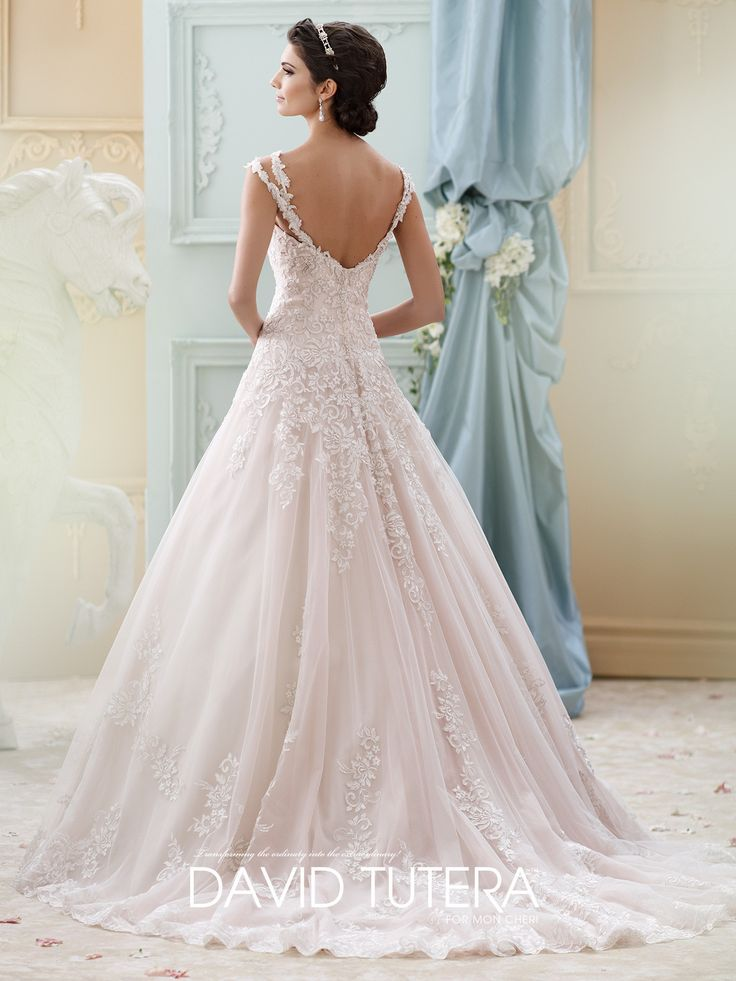 Elegant David Tutera Arwen All Dressed Up Bridal Gown