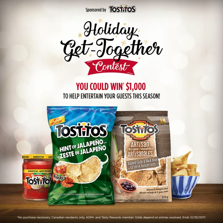 Tostitos® Holiday Get-Together Contest