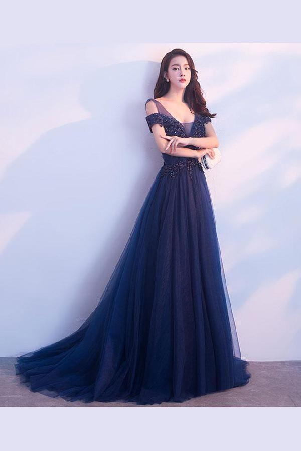 Cute Dark Prom Dresses