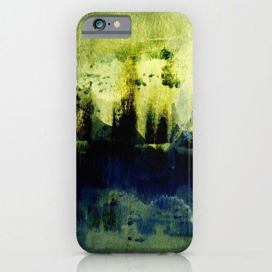 abstract landscape with light iPhone & iPod Case