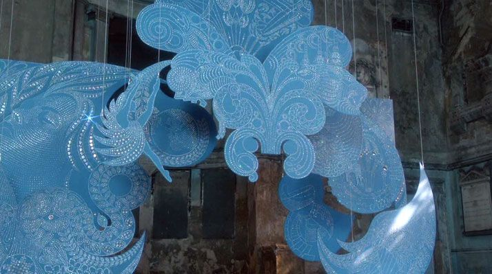 V.O.W N°23 // The making of BOMBAY SAPPHIRE Imagination Installation