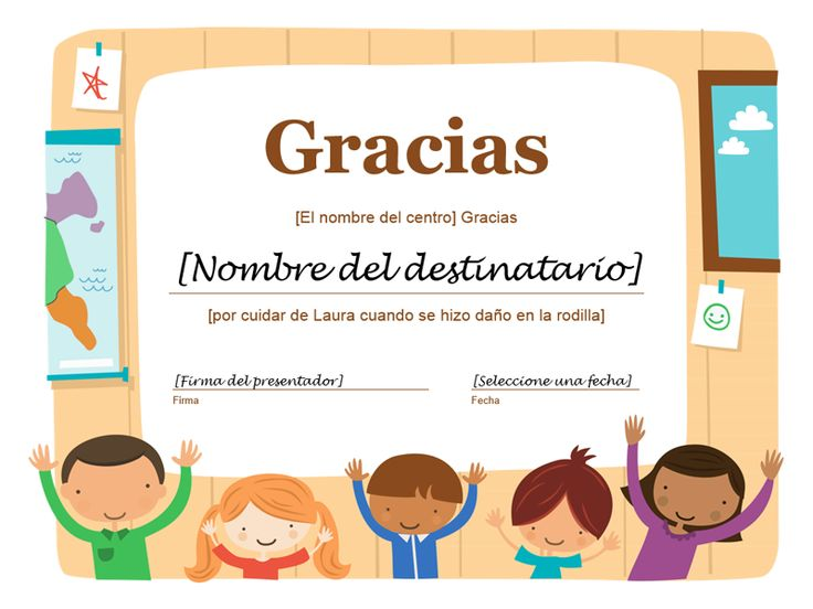 Certificado de agradecimiento - Plantillas - Office.com