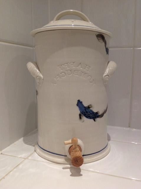 Large Porcelain Kombucha Crock
