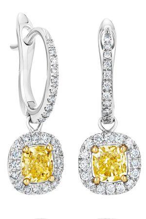 ピアス(WG×ファンシーイエロー ダイヤモンド×ダイヤモンド)¥1,435,000