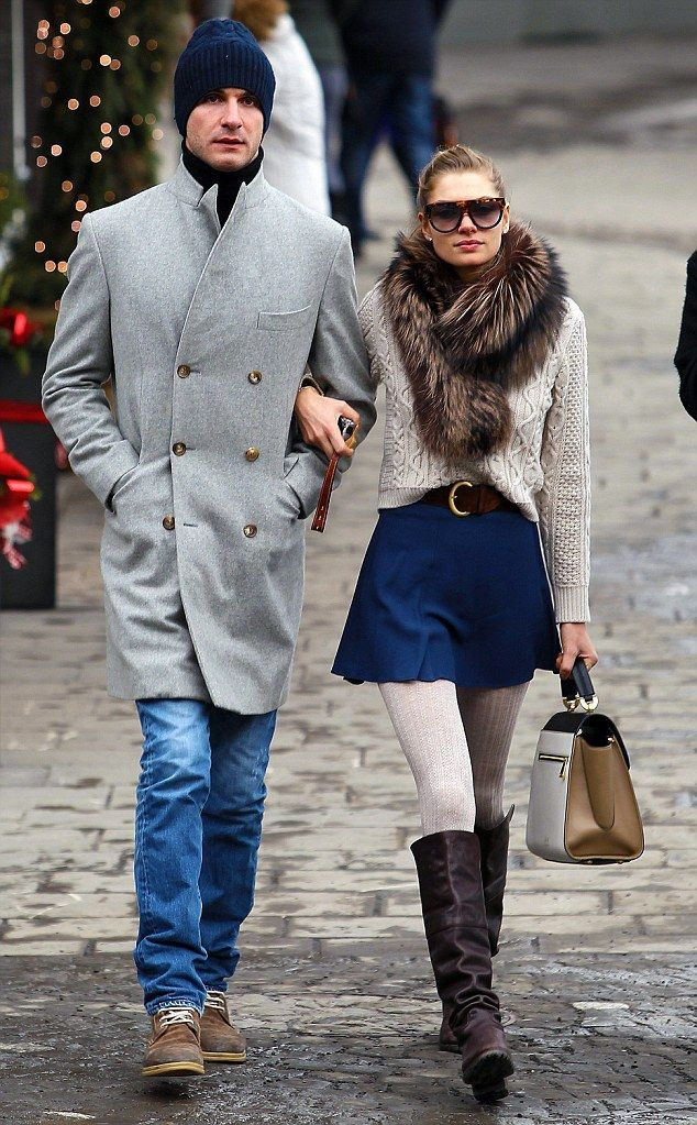 Jessica Hart couple