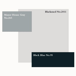 In 1925 homes became modern and fun as well as extremely sophisticated. Walls in most rooms were painted in plain and light colours like Blackened, while ceilings were often painted high gloss, Manor House Gray in Full Gloss would be ideal. Floors were dark and also glossy, try Black Blue Floor Paint to create this look.