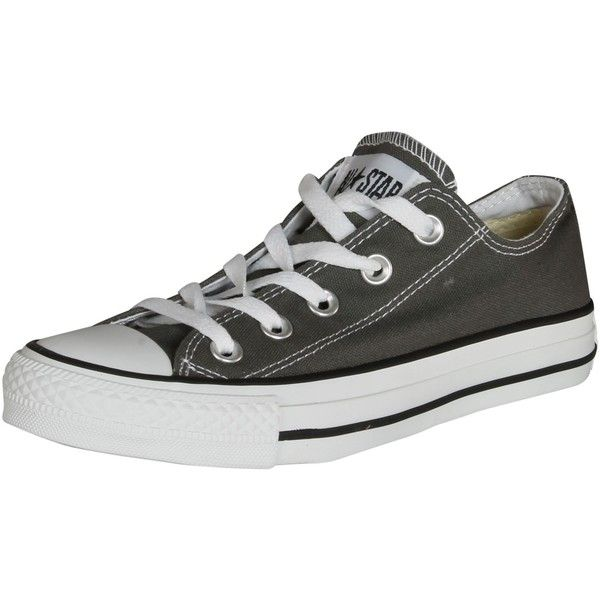 Converse Converse Men's Converse Chuck Taylor All Star Basketball... ($31) ❤ liked on Polyvore featuring shoes, converse trainers, star sneakers, charcoal shoes, star shoes and charcoal gray shoes