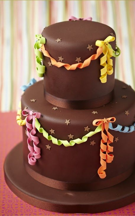 Chocolate lovers will adore this delicious birthday cake!