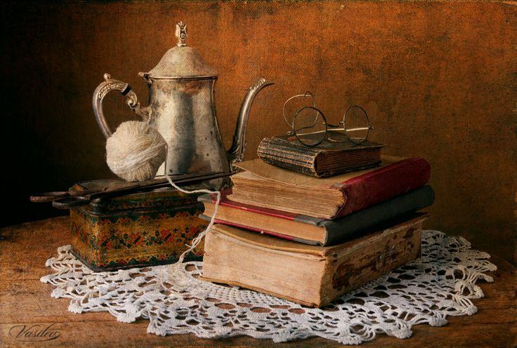 Image detail for -photo: Still life with old books   photographer: Vasil Vasilev   WWW ...
