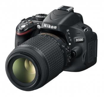 NIKON D-SLR fotoaparat D5100 dvojni KIT DX 18-55 VR & 55-200 VR: Dvojni Kit, D5100 Dvojni, D Slr Fotoaparat, 55 200 Vr, Nikon D Slr, Fotoaparat D5100