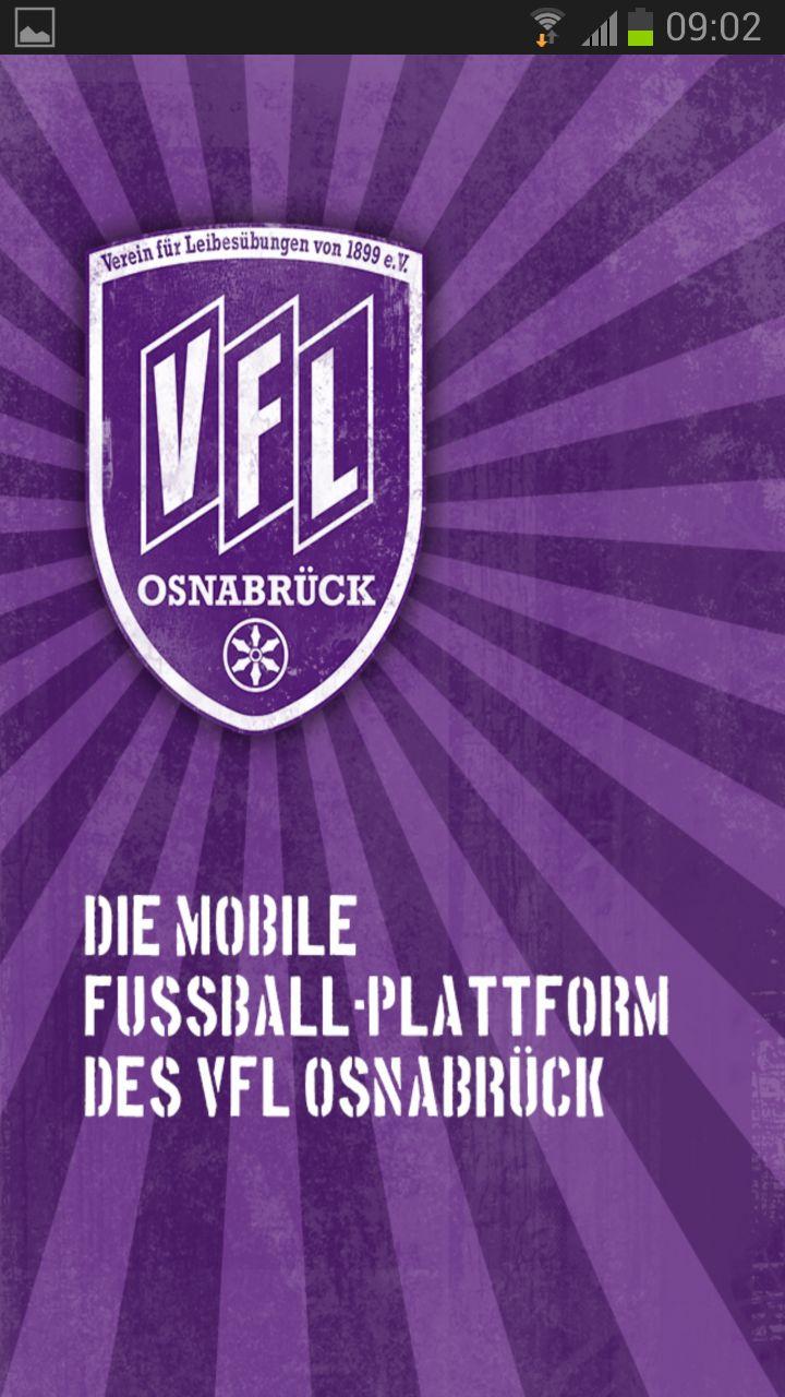 VfL Osnabrück App - Ladebildschirm