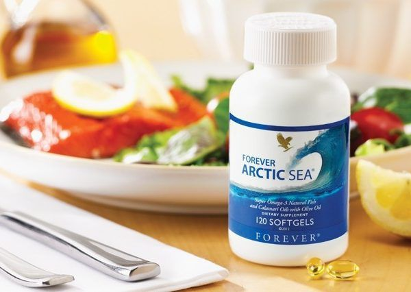 Arctic-Sea (Super Omega 3)  Nutritional supplement based on vitamin E , fish oil and olive oil .  A superior nutritional supplement combining Omega-3 with Omega-9. It provides a safe and balanced supplement that can favorably support healthy blood cholesterol, triglyceride levels, mobility and optimal joint function.