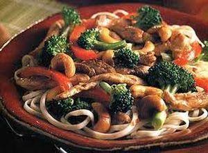 Receta chilena de Tallarines con pollo, Ingredientes y Preparación