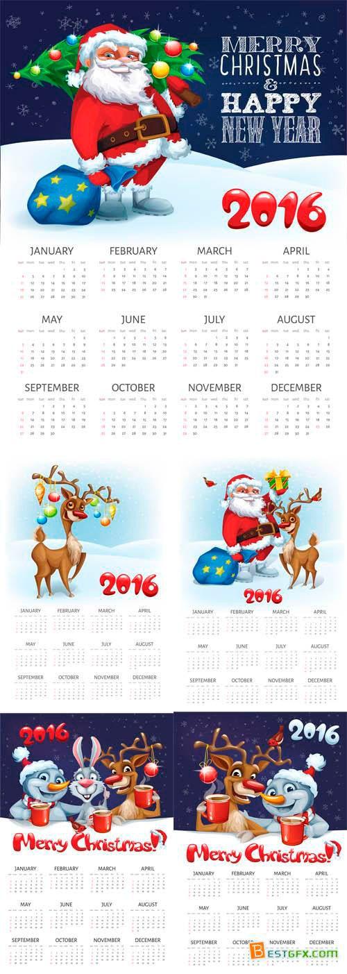 Descarga este calendario 2016 para navidad con el cual podrás cargar tu propia imagen y textos para imprimirlo Este es un set de 5 calendarios para navidad con distintos dibujos en vectores. Te encontrarás con un calendario 2016 de santa clause, otro calendario con renos, con snowball o muñeco de nieve y un sin fin de recursos navideños que te serán de mucha utilidad a la hora de diseñar tu propio calendario 2016. A estas alturas del año siempre vienen bien este tipo de almanaques o…
