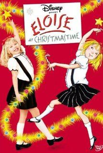 """The suite life of Kay Thompson's permanent guest of the Plaza Hotel (Sofia Vassilieva, """"Medium"""")! Christmas is suiter: Eloise (age 6) spends the holiday bringing true lovers together. Pictured: Little Miss Vassilieva (left) and Hilary Knight's traditional illustration (right). Directed by Kevin Lima (""""Enchanted"""")."""