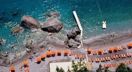 Ristorante bar Da Teresa - Spiaggia di Sante Croce - Amalfi