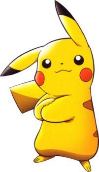Confident Pikachu