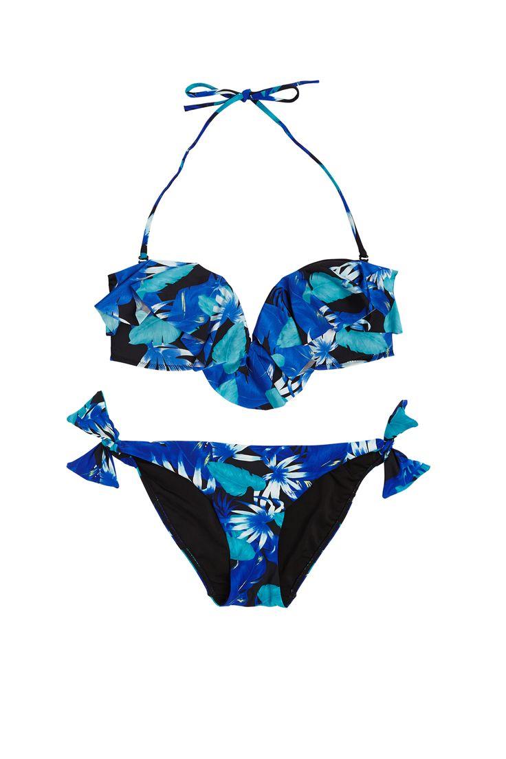 I <3 FLOWERS | kostium kąpielowy Oysho (Atrium +1) #flowers #kostium #oysho #starybrowar