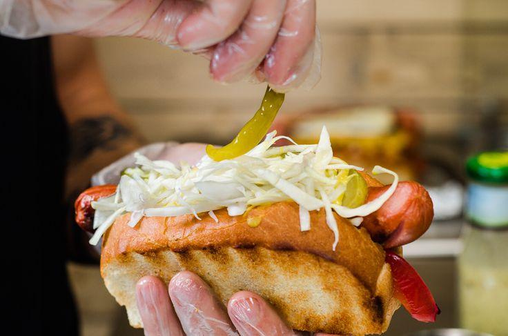 Chicago style hot-dog Extravirgin