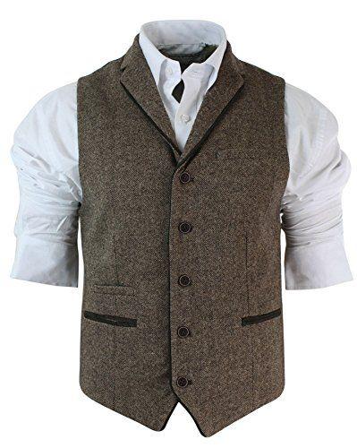 Herrenweste Braun Tweed Fischgräte Design Eng Tailliert Vintage Still Lässig Cavani http://www.amazon.de/dp/B018SSR99K/ref=cm_sw_r_pi_dp_tQVYwb0HNDBWX