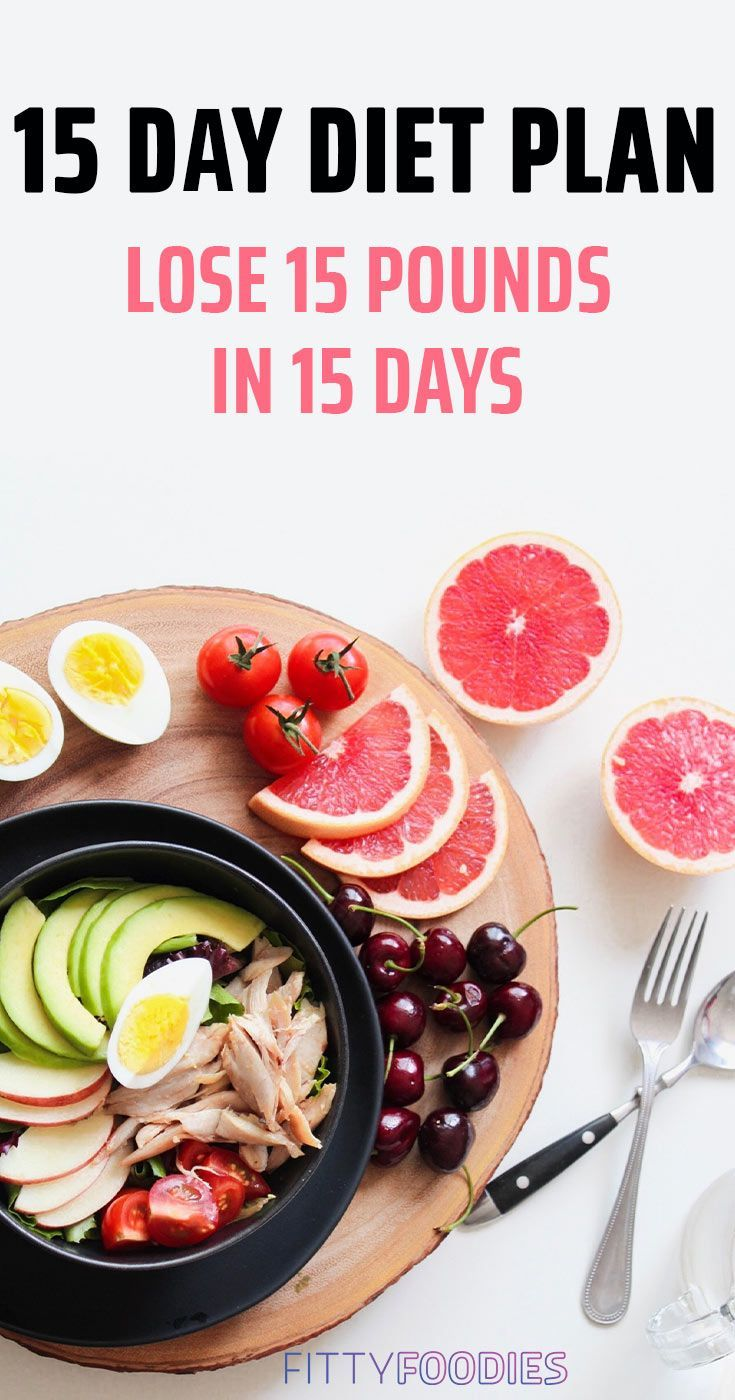 15 days diet to lose weight
