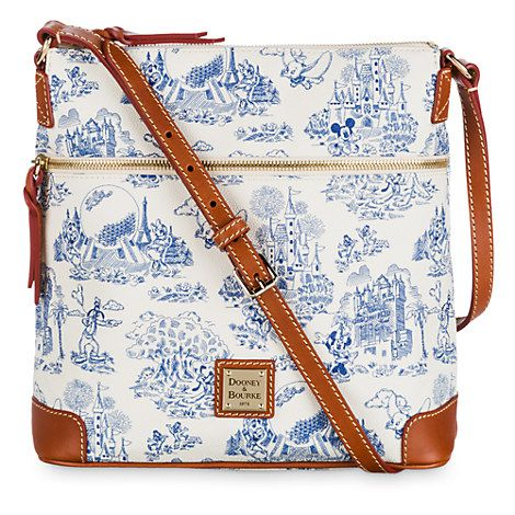 Walt Disney World Toile Letter Carrier Bag by Dooney & Bourke