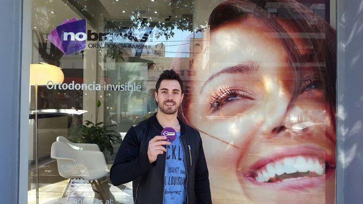 Siempre sonriendo Bruno Sainz Micheli #smile #nobracks #OrtodonciaInvisible