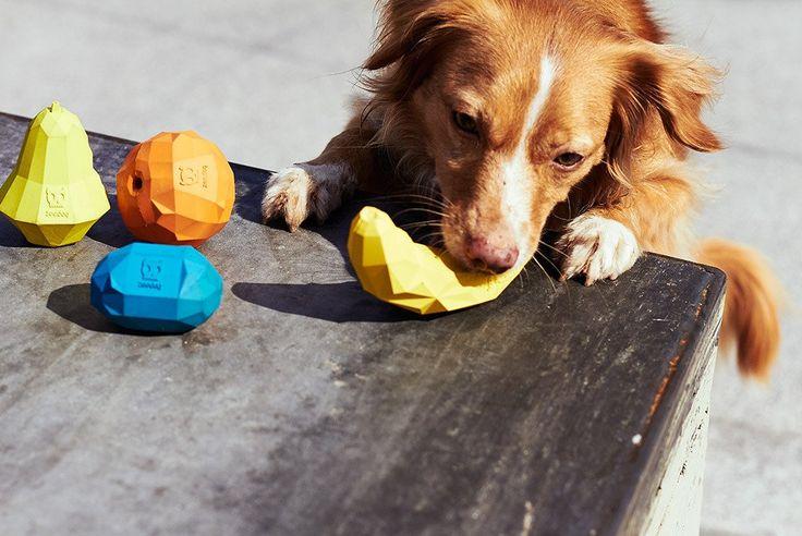 Quieres ver a tu peludo disfrutar con un nuevo juguete? Los nuevos juguetes Zee.Dog le encantarán! Elige la forma que mas te guste: banana, orange o pear Best for Pets