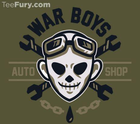Mad Max: Fury Road: War Boys t-shirt.