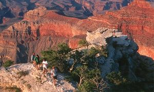 Groupon - All-Day Grand Canyon Tour for Two, Four, or Six from Great Venture Tours (Up to 50% Off) in Sedona. Groupon deal price: $178