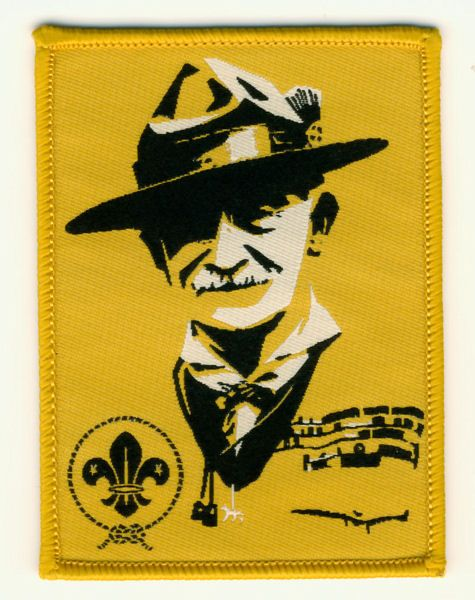 World Scout Baden-Powell Pop Art Scouting Fun Badge                                                                                                                                                                                 More