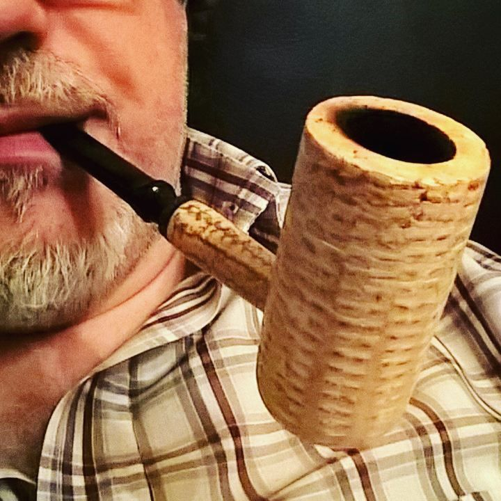 Corn cob pipe Mac Arthur