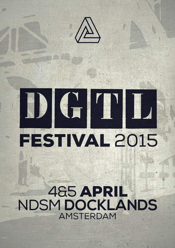 4|5 April #dgtlfestival #DGTL ##ndsm #docklands #amsterdam