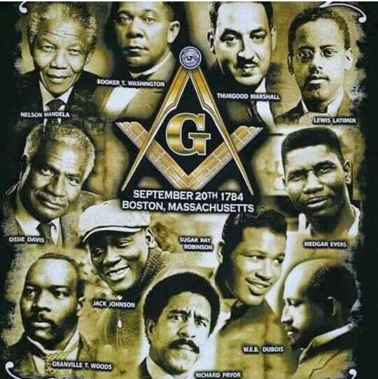 Just a few of thr notable Prince Hall Masons