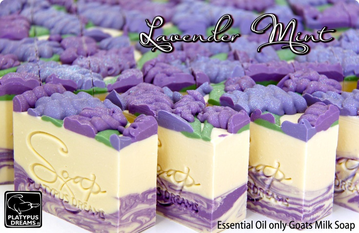 I dream of making soap like this!