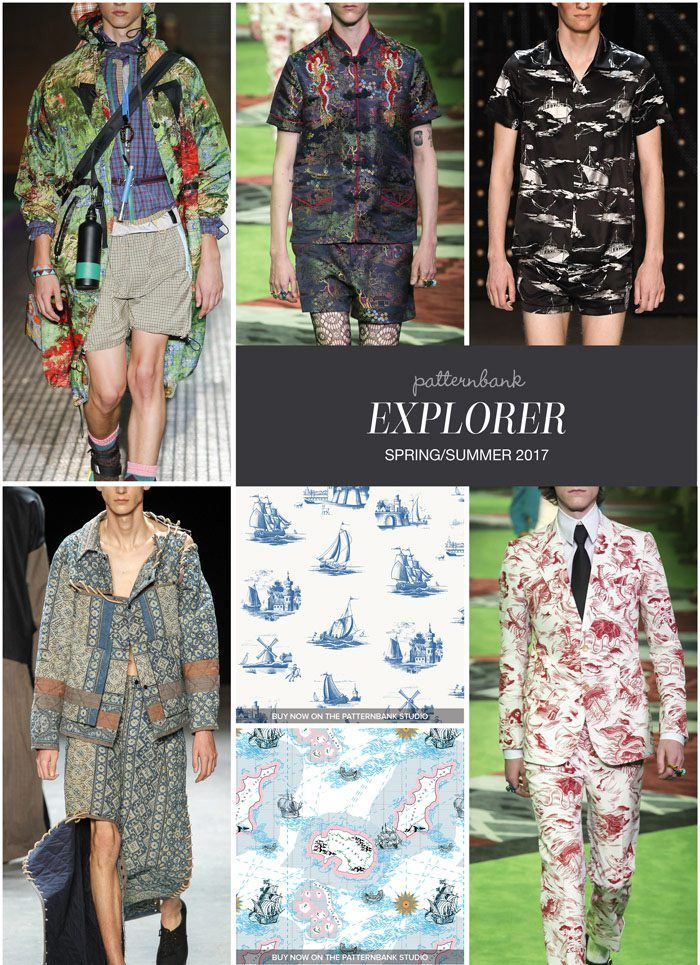 EXPLORER » Prada / Gucci / Topman Design / Craig Green / Delft Ships and Boats by Lucy Wood / Ships In The Night by Zara / Gucci