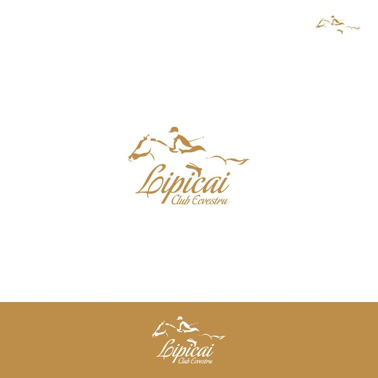 Logo design for Lipicai Equestrian Club