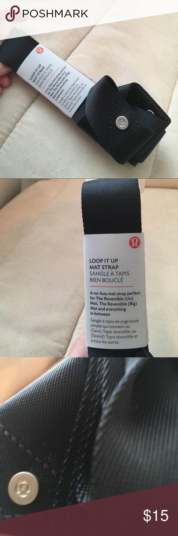lululemon Mat Strap. NWT's. Yoga strap for Mat in Black. lululemon athletica Accessories