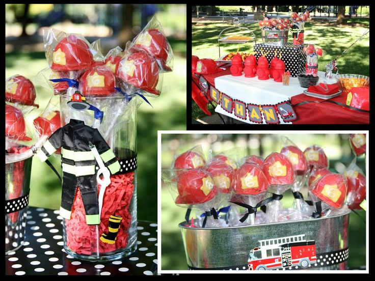 41 Best Images About Firestation Party Ideas On Pinterest