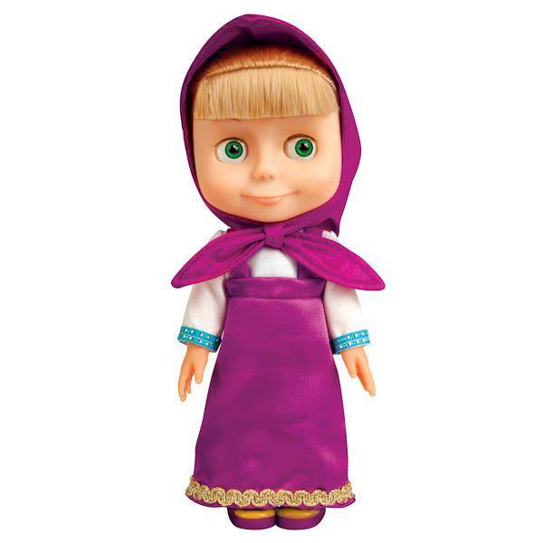 Russian Doll Masha 100 phrases 4 songs Masha and the Bear Toys #Karapuz
