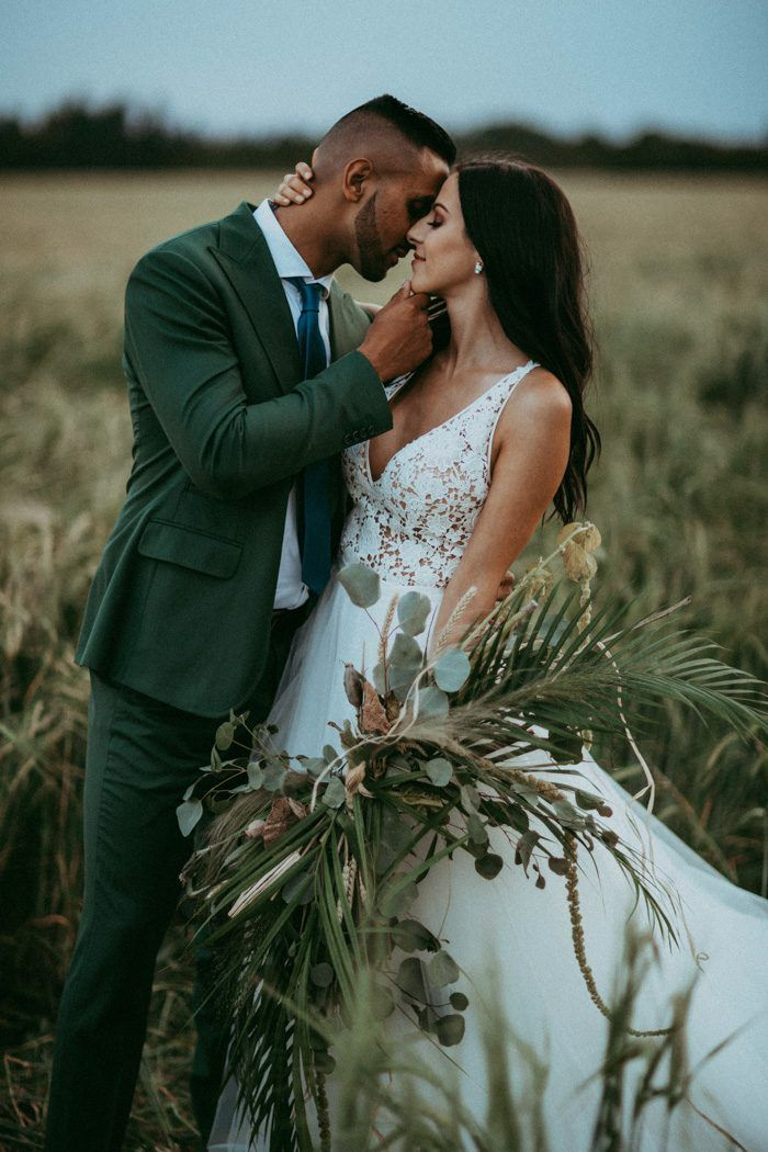 This Prairie Wedding ceremony Inspiration is a Bohemian Lover's Dream