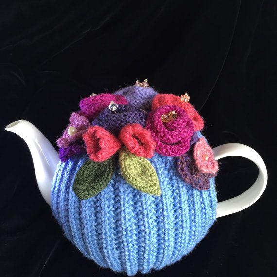 Rickety Gates Beautiful Handmade Tea Cosy. Pure wool. Bespoke.