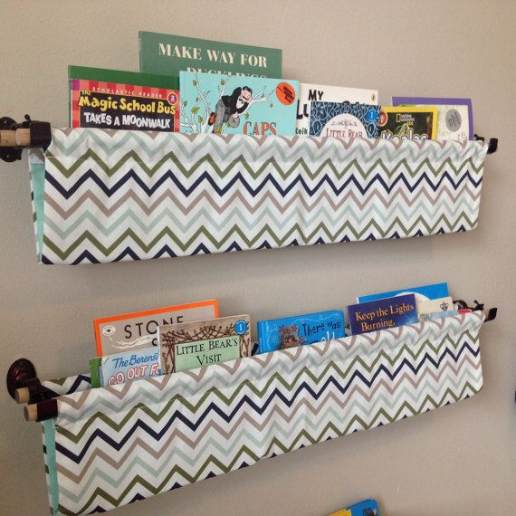 Storing Books In Small Spaces Part - 34: Perfect For Storing Books In Small Spaces! Chevron Book Sling By  LifeMadeChic On Etsy Aren