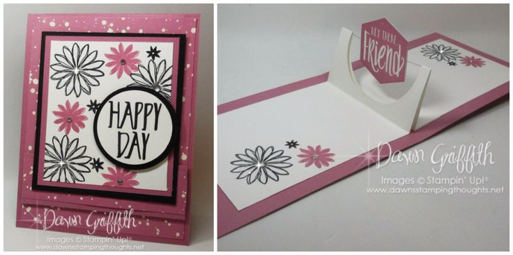Happy Day Sweet Sugarplum collage Dawn Griffith Stampin Up Demonstrator Video posted today