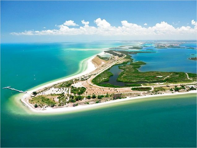 Fort De Soto Park - St Petersburg, FL. Beach rated top in America for Families