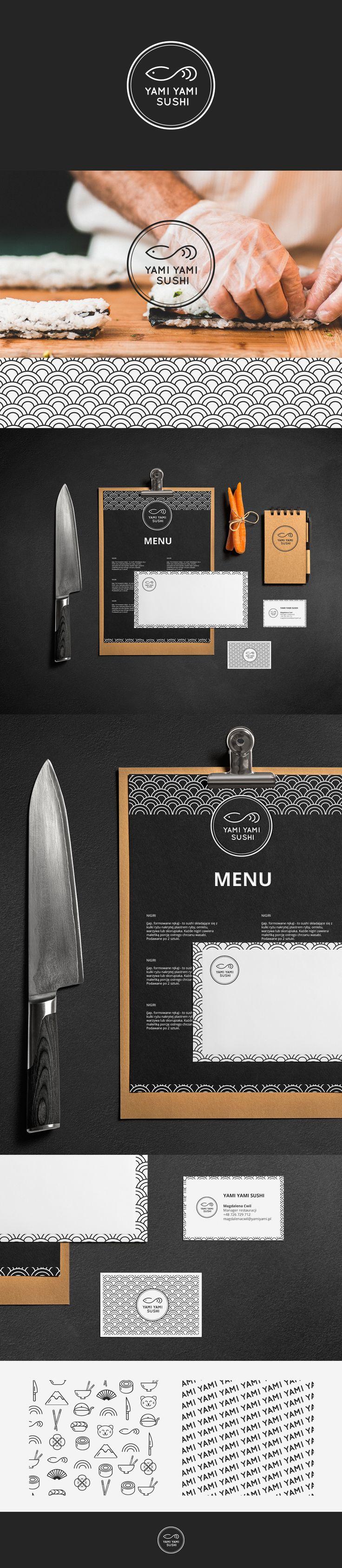 "Check out this @Behance project: ""Yami Yami Sushi Branding"" https://www.behance.net/gallery/42069019/Yami-Yami-Sushi-Branding"