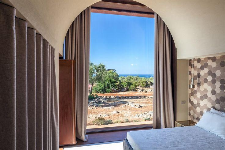Villa Camilla - a luxuriously finished contemporary design villa with pool and sea views near Gagliano del Capo, Salento, Puglia, Italy