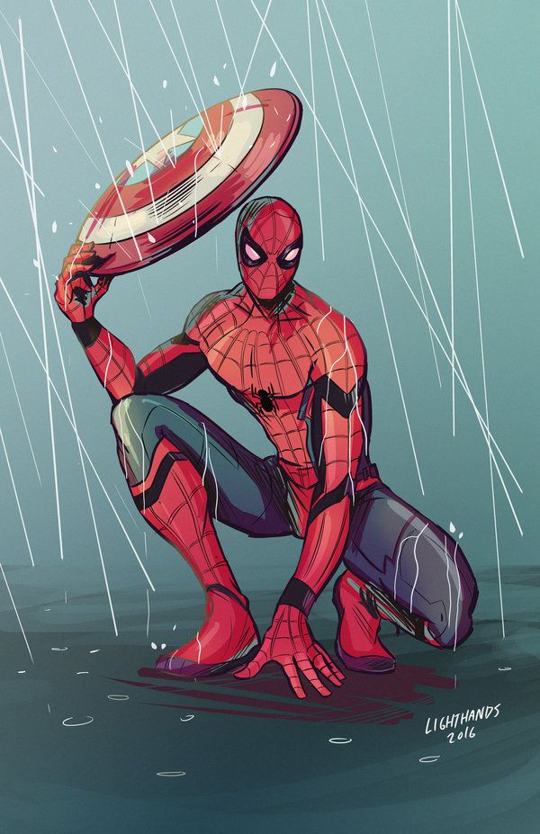 Spider-Man - Civil War by Johnny-Lighthands.deviantart.com on @DeviantArt
