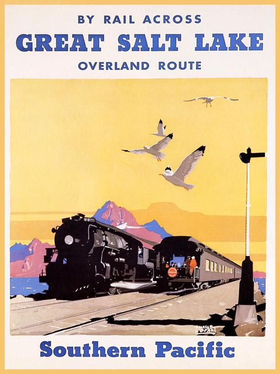 1929 Carriso Gorge California Vintage Style Southern Pacific Travel Poster 16x24